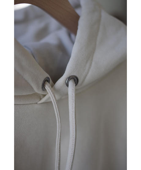 Blanc YM / Coating Sweat Parka / col.BEIGE