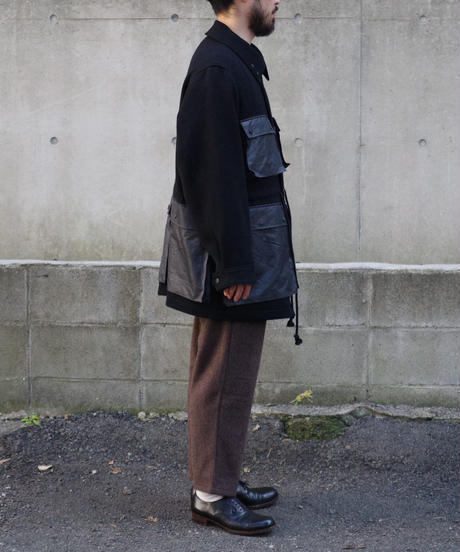 YOKO SAKAMOTO / HUNTING JACKET / col.ブラック