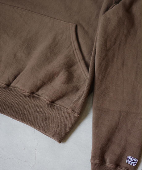 ENDS and MEANS / Crew Neck Sweat / col.BROWN