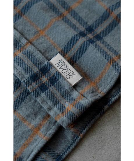 SEDAN ALL PURPOSE / Plaid Flannel Big BD Shirts / col.Gray Plaid