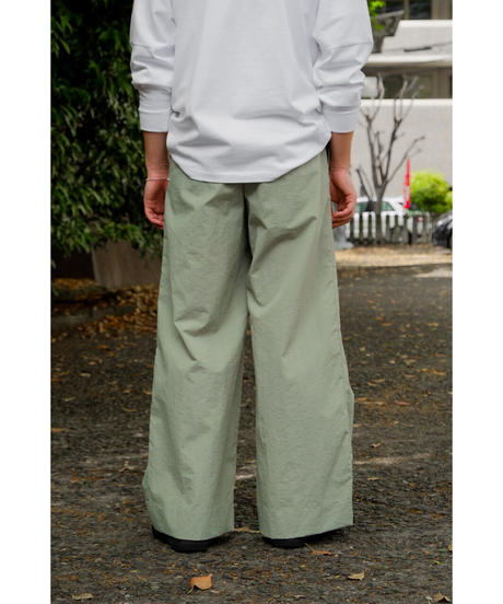 Sheba / 2TUCK WIDE PANTS / col.GREEN