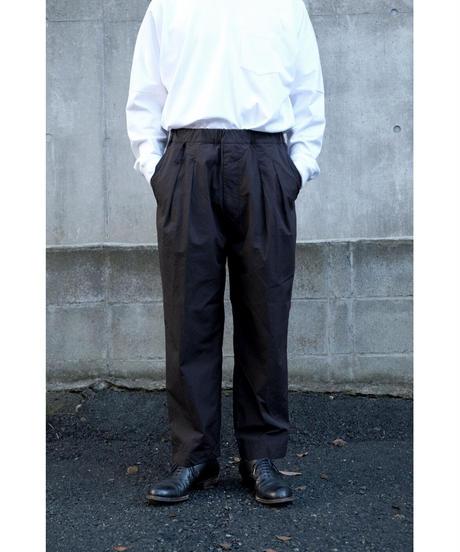 YOKO SAKAMOTO / SIUT WIDE TROUSERS / col.BLACK