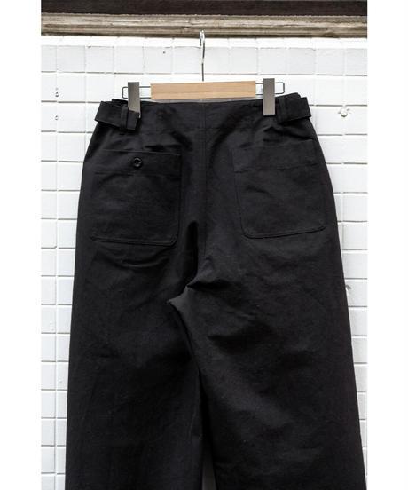 THE HINOKI / Cotton Wool Bafu OSFA Wide Pants / col.D.BROWN / Lady's