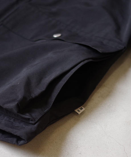 ENDS and MEANS / Sanpo Jacket / col.ブラック