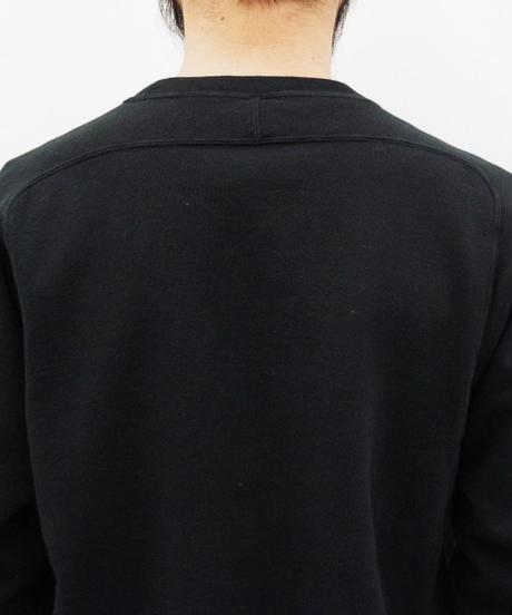 THE HINOKI / オーガニックコットン裏起毛スウェットシャツ / col.ブラック / size 4