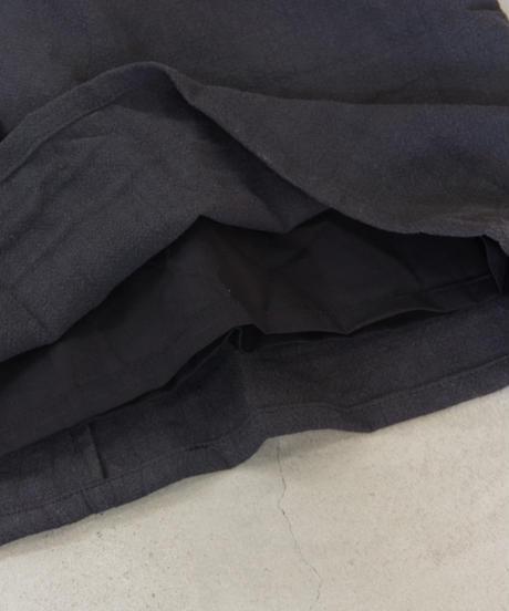Worke's nobility  / Loose Dress(リネン長袖ワンピース)/ col.ブラック