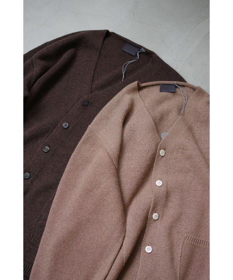 comm.arch. / HAND FRAMED CO LINEN C/D / col.MUD BROWN / size 4