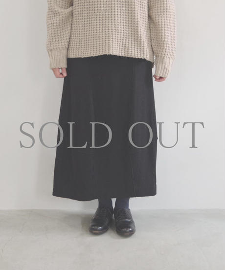 pssst,sir / trom skirt / col.ブラック