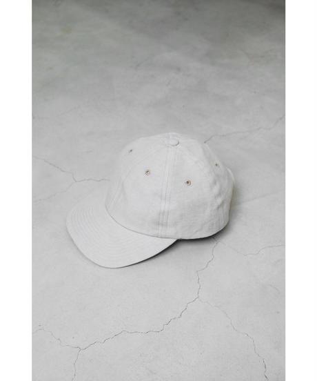 ULTERIOR / C/L TWILL 6 PANELED CAP / col.ECRU