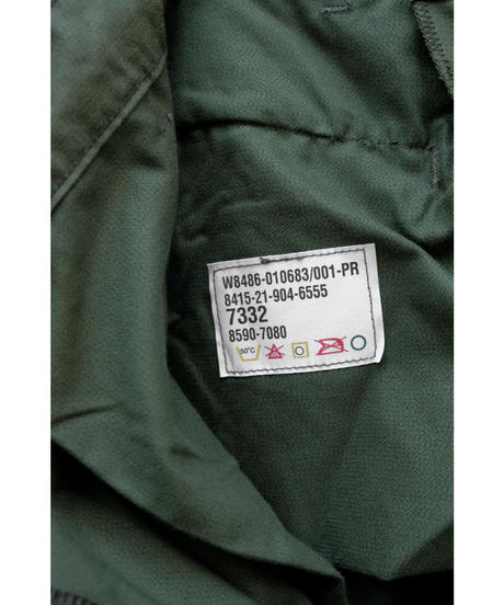 MILITARY DEAD STOCK / CANADIAN CARGO PANTS / Lady's