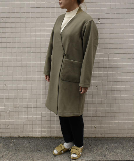 bunt / GOWN COAT / col.カーキ / Lady's