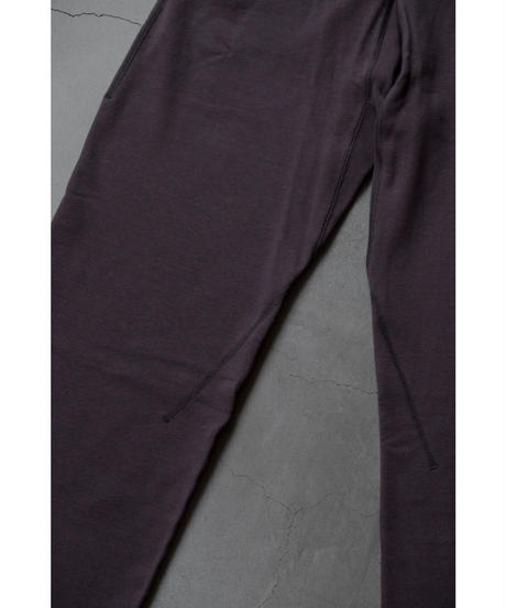 ULTERIOR / DRY FEEL SILKY TERRY SWEAT PANTS / col.PERPLE BROWN