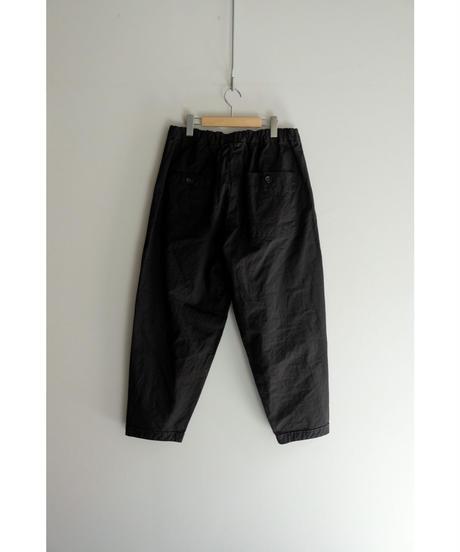 yoko sakamoto / WORK TAPERED TROUSERS / col.BLACK / size.L