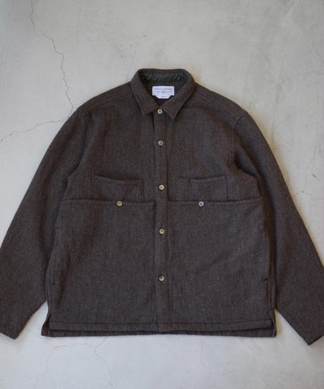 ENDS and MEANS / EM Work Shirts / col.ブラウン