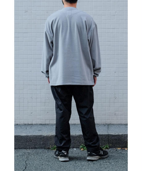 S.F.C / TAPERED EASY WIDW PANTS / col.BLACK