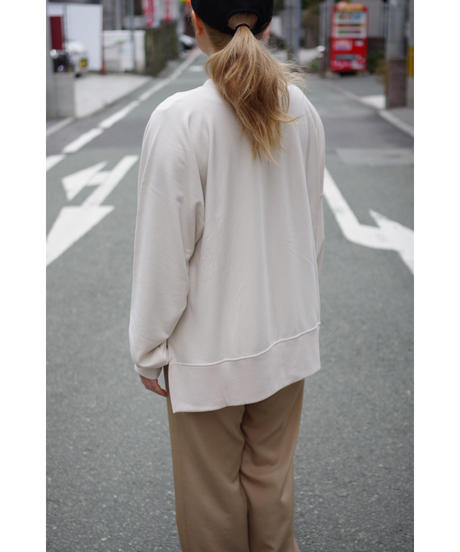 bunt / COMFY CREW NECK SWEAT / col.ECRU / Lady's