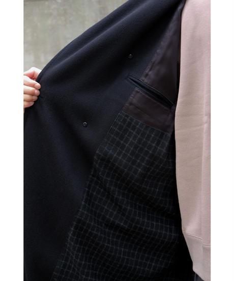 ULTERIOR / PURE CASHMERE BEAVER OVER COAT / col.BLACK / size.4