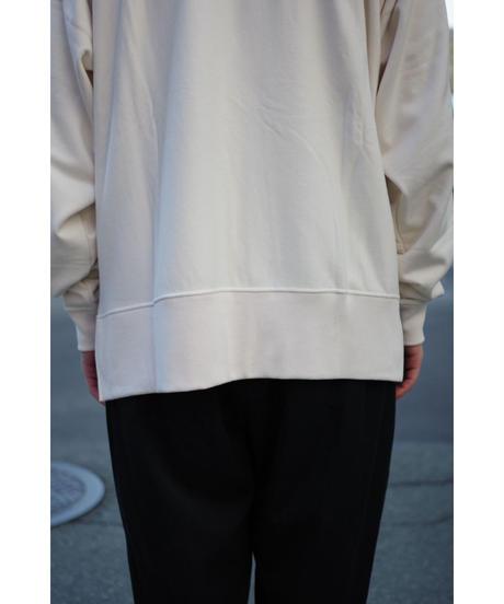 bunt / COMFY CREW NECK SWEAT / col.ECRU