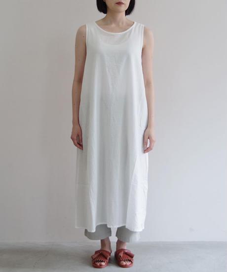 Vlas Blomme / & Twelve Linen(天竺)ワンタックパンツ / col.ベージュ