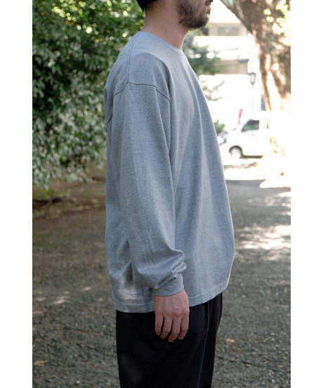 S.F.C -Stripes For Creative / BASIC LS TEE / col.GRAY