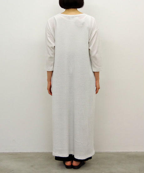 Vlas Blomme / & 12 Linen(Baby Waffle) ワンピース / col.ヴィンテージホワイト