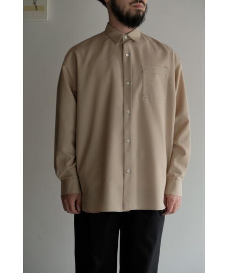 Blanc YM / S/W Royal Oxford Shirt / col.BEIGE
