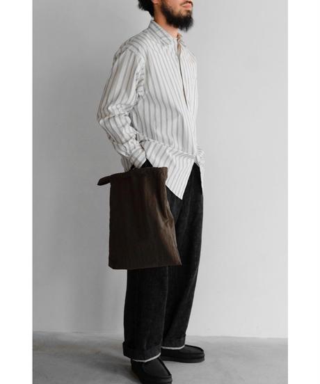 ERA. / COOKING COAT BAG(TASSER NYLON) / col.BROWN