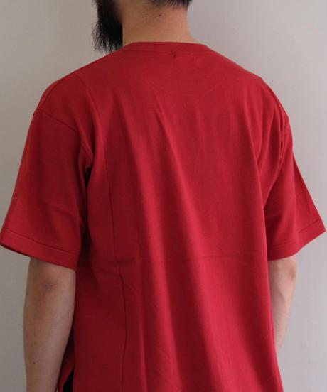 THE HINOKI / オーガニックコットンハーフスリーブTシャツ / col.レッド