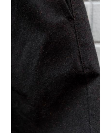 THE HINOKI / Cotton Wool Bafu OSFA Wide Pants / col.D.BROWN