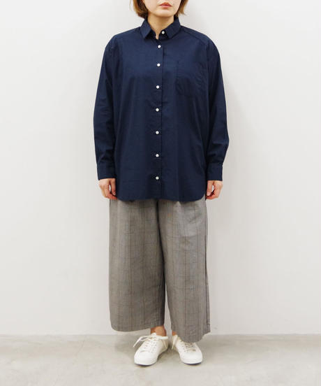 SETTO / DWP WIDE TUCK PANTS / col.グレーチェック