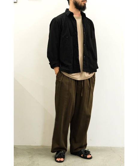 ENDS and MEANS / Light Jacket / col.BLACK / size.M