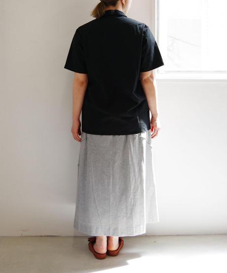 THEHINOKI / パラシュートクロス 半袖シャツ / col.ブラック / size 1 / Lady's