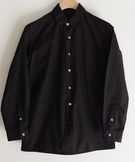THE HINOKI / 高密度コットンブロードシャツ / col.ブラック / size0 / Lady's