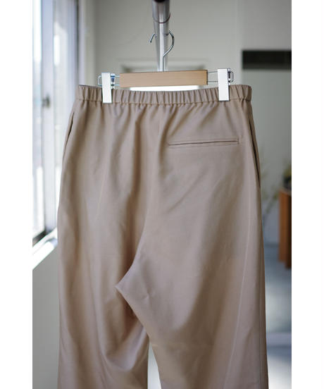 Blanc YM / S/W Royal Oxford Easy Pants / col.BEIGE