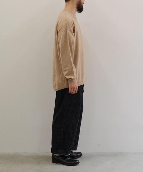 YOKO SAKAMOTO / WOOL CASHMERE MOCK NECK / col.ベージュ