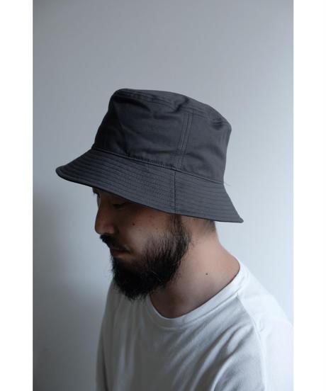 ULTERIOR / BIZEN NO.1 TWILL BUCKET HAT / col.SLATE GRAY