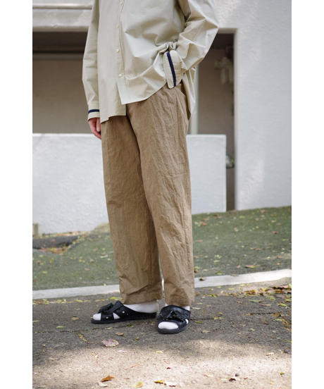 ENDS and MEANS / Relax Fit Trousers / col.KHAKI