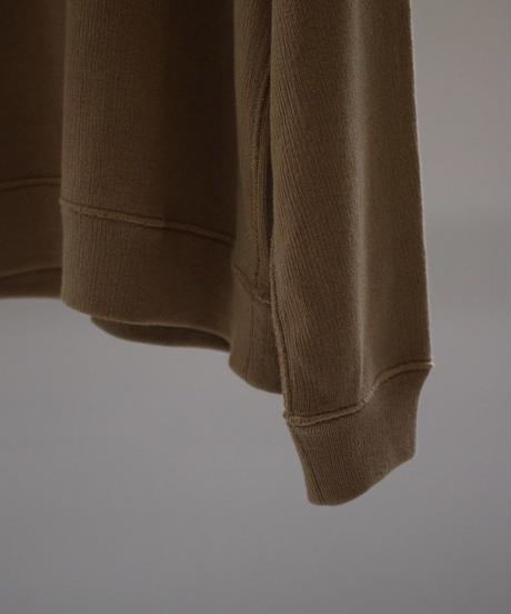bunt / REVERSE SWEAT SHIRTS / col.ブラウン / Lady's