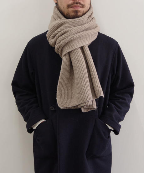bunt / GRAND FATHER MUFFLER  / col.ベージュ