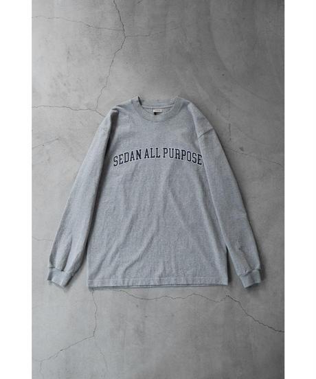 SEDAN ALL PURPOSE / Arch Logo L/S Tee / col.Gray