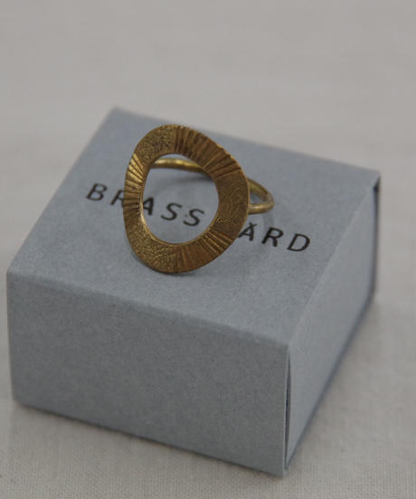 BRASS YARD / circle リング