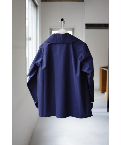 Sheba / PIPING SHIRT JACKET / col.NAVY / size.2