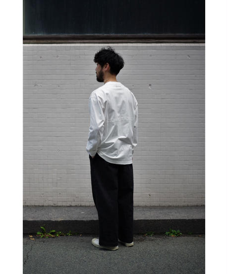 Sheba / ロングスリーブ カットソー / col.WHITE