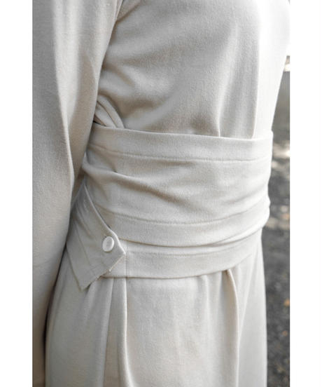 THE HINOKI / Organic Cotton Pullover Dress / col.OATMEAL