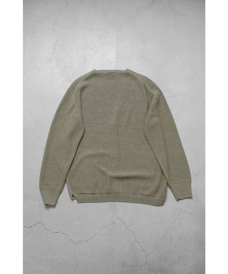 comm.arch. / HAND FRAMED CO LINEN C/D / col.YOMOGI / Lady's