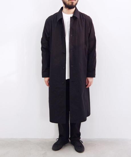 THE HINOKI / コットン馬布バルマカーンコート / col.ブラック / size 3