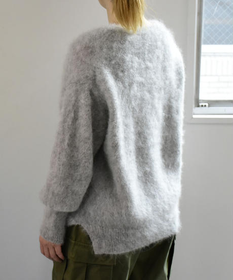 comm.arch. / Hnad Framed Mohair P/O / col.Clouds