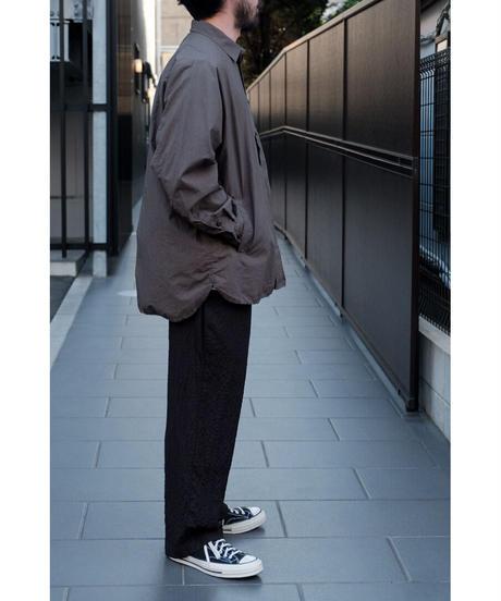 YOKO SAKAMOTO / WORK REGULAR SHIRT / col.GRAY