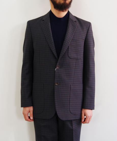 bunt / CK 2BUTTON TAILORED JACKET & CK 1TUCK TAILORED PANTS / col.ブラウン