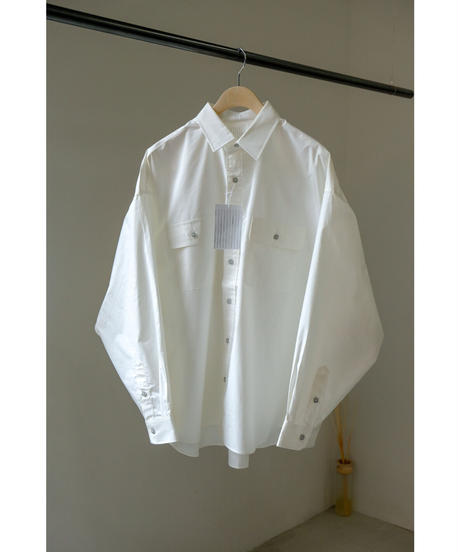S.F.C  / SFC SHIRT / col.WHITE